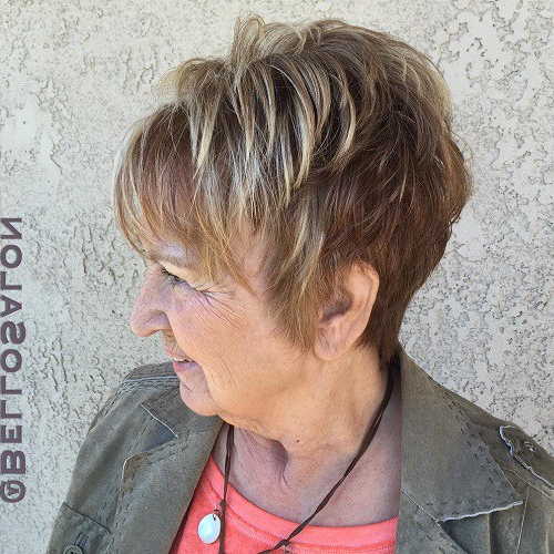 Fabulously Different Hairstyles For Women Over 60 | Inspired Living In Salt And Pepper Voluminous Haircuts (View 10 of 25)