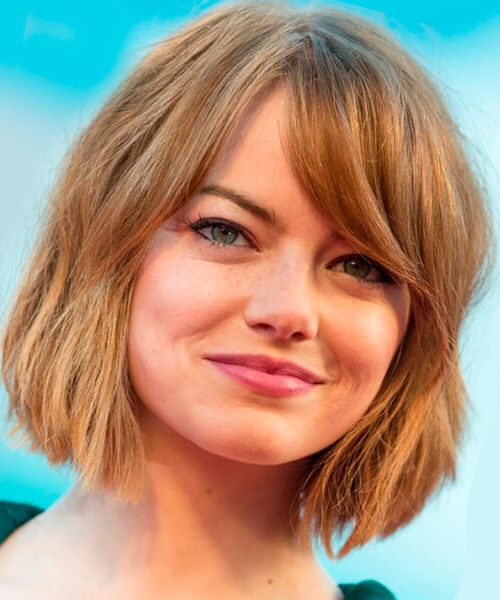 Hairstyles For Bobs: Thick Hair And Fine Hair (View 18 of 25)