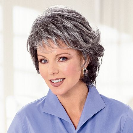 Hairstyles For Salt And Pepper Hair For Women   Salt And Pepper (#44 For Salt And Pepper Voluminous Haircuts (View 2 of 25)