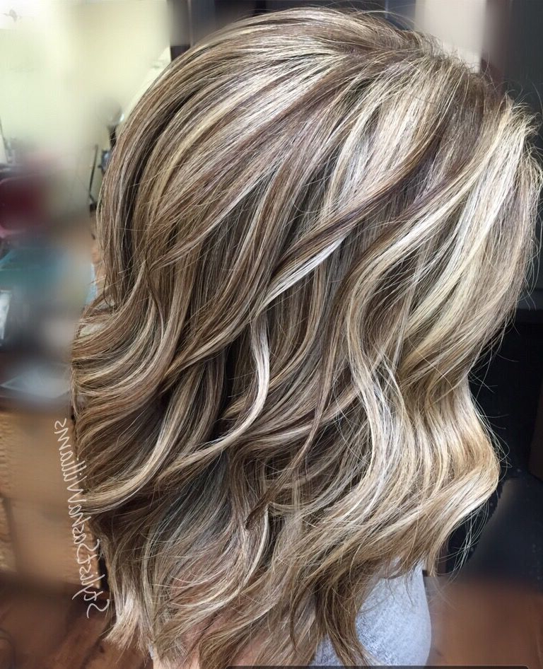 Highlights Lowlights, Blonde Hair | Hair Color In 2018 | Pinterest Pertaining To Short Ruffled Hairstyles With Blonde Highlights (View 11 of 25)