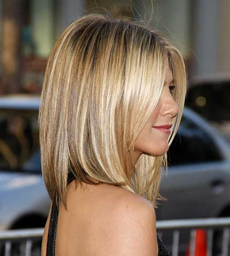 Honey Blonde Highlight – Medium Bob Hair Cut Intended For Honey Blonde Layered Bob Hairstyles With Short Back (View 13 of 25)