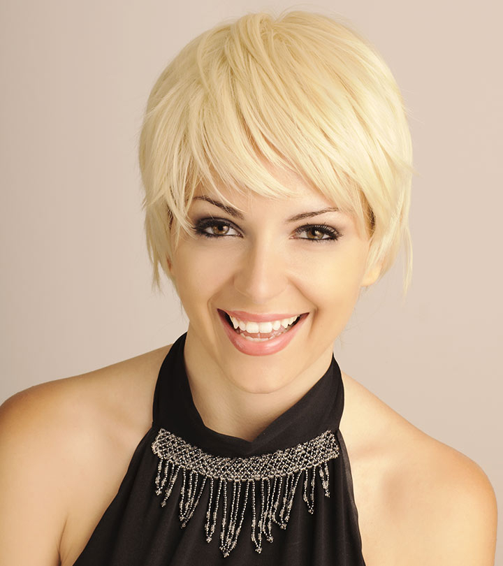 How To Sport Pixie Hairstyle For Different Face Shapes? For Pixie Bob Hairstyles With Nape Undercut (View 16 of 25)