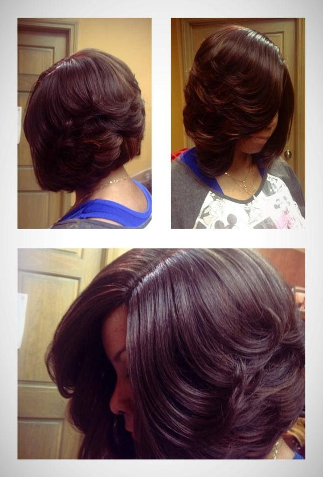 I Love This Layered Bob Look, But I Could Never Cut My Hair This Regarding Short Bob Hairstyles With Feathered Layers (View 21 of 25)