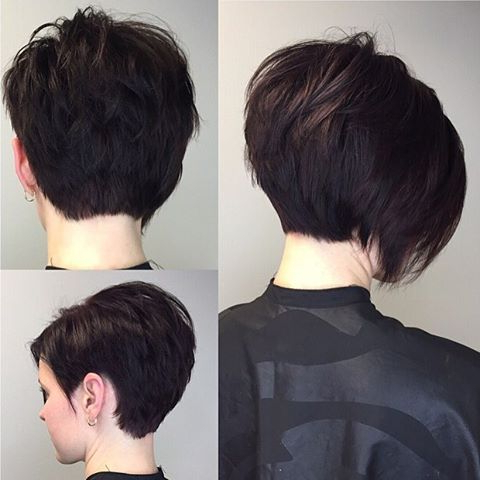 I Love When Someone Wants A Huge Change! Short Asymmetrical Bob Throughout Short Asymmetrical Bob Hairstyles (View 6 of 25)