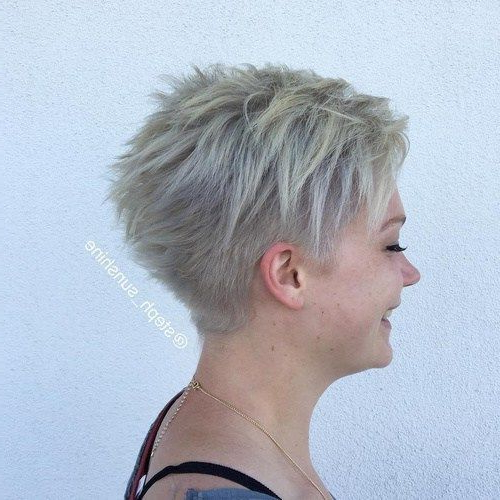 Image Result For Short Spiky Gray Cut | Fashion In 2018 | Pinterest With Regard To Spiky Gray Pixie Haircuts (View 3 of 25)