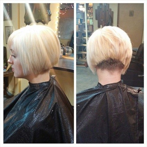 Inverted Bob With A Clippered Nape   Inverted Bob's In 2018 Regarding Rounded Bob Hairstyles With Stacked Nape (View 21 of 25)
