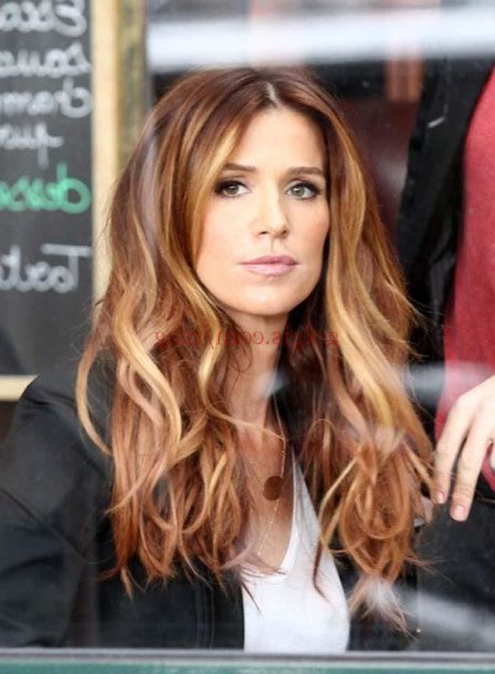 Light Auburn Hair Color With Highlights | Hair In 2018 | Pinterest In Soft Auburn Look Hairstyles (View 6 of 25)
