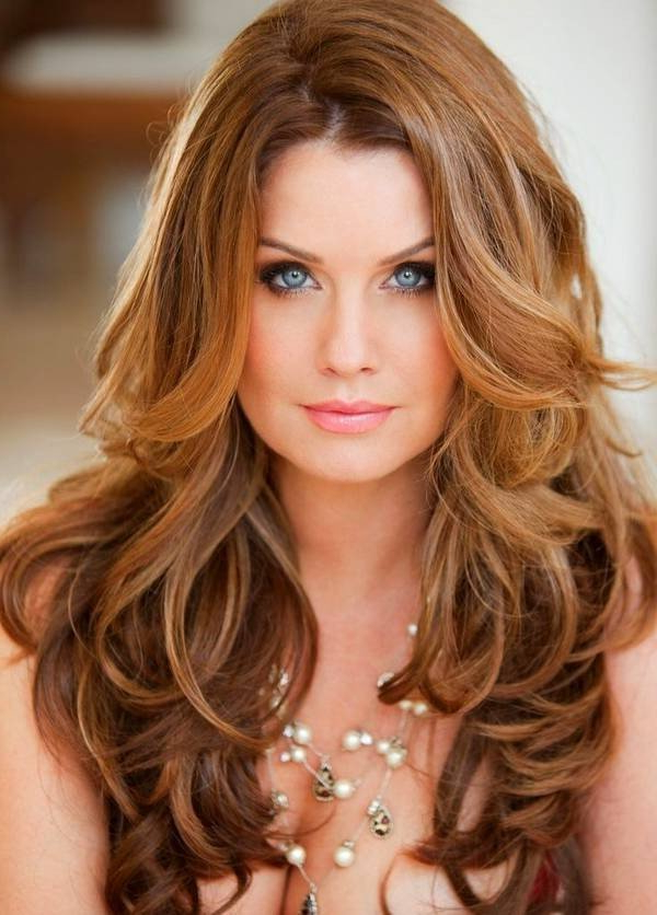 Long Hair With Long Layers , Add A Soft Auburn Tint And You Have Pertaining To Soft Auburn Look Hairstyles (View 19 of 25)