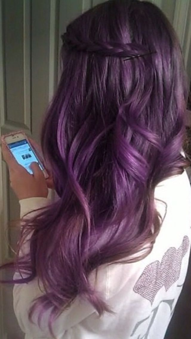 Long Purple Haze Hair | Beauty | Pinterest | Purple Haze, Hair In Purple Haze Hairstyles (View 13 of 25)
