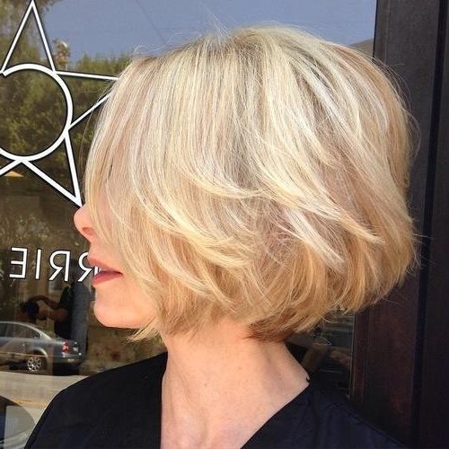 Look Younger With These Best Short Hairstyles For Women Over 50 With Regard To Bouncy Bob Hairstyles For Women 50+ (View 8 of 25)