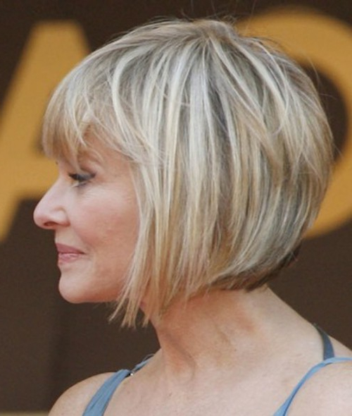 Look Younger With These Best Short Hairstyles For Women Over 50 With Regard To Bouncy Bob Hairstyles For Women 50+ (View 5 of 25)
