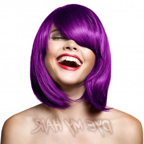 Manic Panic Purple Haze Semi Permanent Hair Dye, High Voltage Colour In Purple Haze Hairstyles (View 16 of 25)