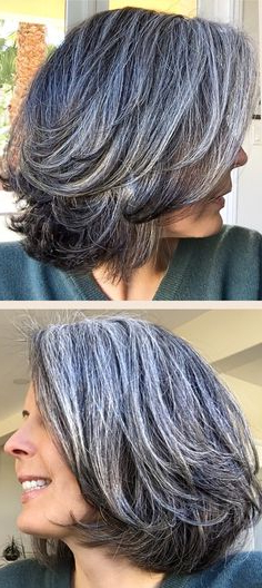 Mary Dress (Onenon Blonde) On Pinterest With Salt And Pepper Voluminous Haircuts (View 17 of 25)