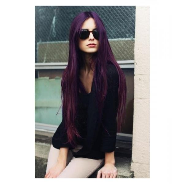 Mini Manic Panic Hair Dye – Purple Haze – Madame Chocolat Within Purple Haze Hairstyles (View 25 of 25)