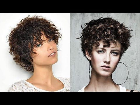 Naturally Curly Hair For 2018 (Easy Short Hairstyles) – Youtube Inside Short Curly Hairstyles (View 25 of 25)