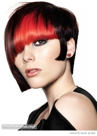 New Edgy Hairstyles | Edgy Two Tone Hairstyle Idea Punk Hairstyles With Voluminous Two Tone Haircuts (View 8 of 25)