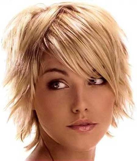 New Short Blonde Hairstyles 2014   Short Hairstyles 2018 - 2019 within Short Layered Blonde Hairstyles