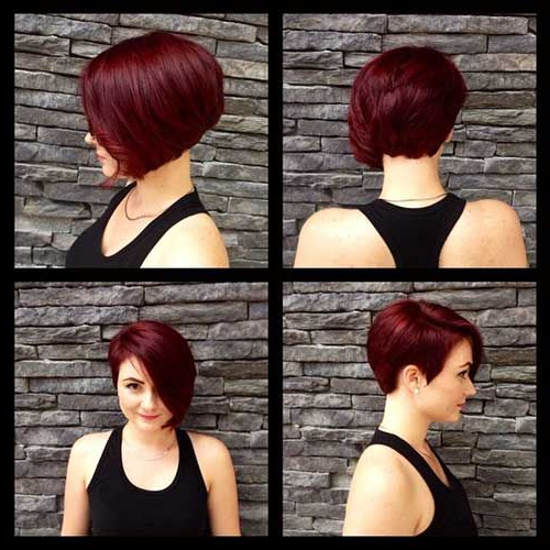 Featured Photo of Short Asymmetrical Bob Hairstyles