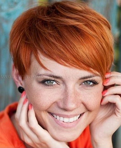 Pixie Cut, Pixie Haircut, Cropped Pixie – Short Red Hair | Trendy Throughout Black Choppy Pixie Hairstyles With Red Bangs (View 7 of 25)