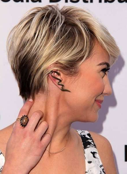 Pixie Haircuts Blonde Highlights – Google Search   Hair, My Hair With Pixie Bob Hairstyles With Blonde Babylights (View 13 of 25)
