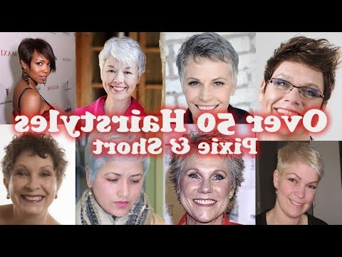 Pixie Haircuts For Older Women Over 50 Years Old – New 2018 Pixie In Pixie Undercut Hairstyles For Women Over (View 19 of 25)