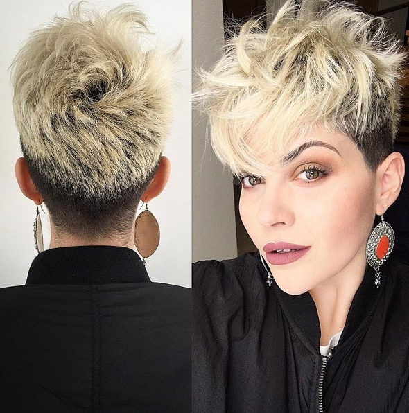 Popular Hairstyles Archives – Page 5 Of 10 – Popular Haircuts With Messy Pixie Hairstyles With Chunky Highlights (View 20 of 25)