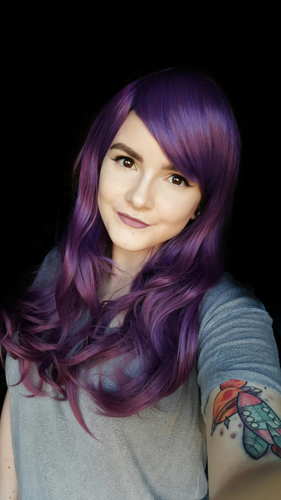 Purple Haze – Lush Wigs In Purple Haze Hairstyles (View 9 of 25)