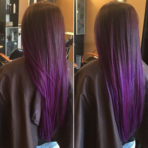 "Purple Haze"" ""manic Panic"" ""after Midnight"" – Google Search: Regarding Purple Haze Hairstyles (View 17 of 25)"