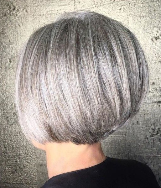Featured Photo of Rounded Bob Hairstyles With Stacked Nape