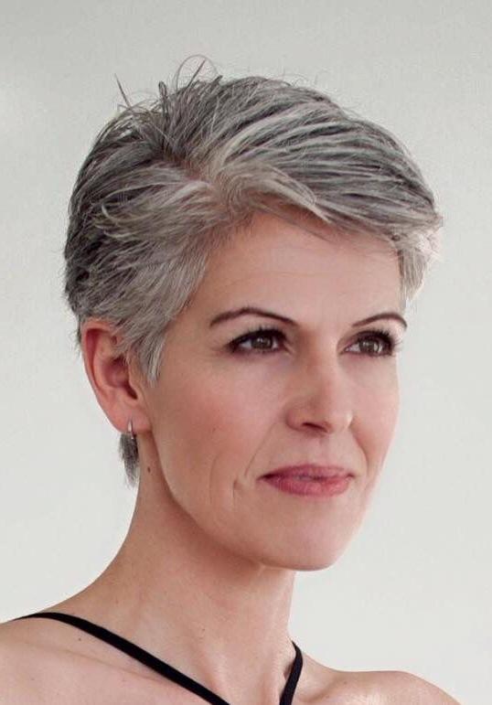 Salt And Pepper Gray Hair. Grey Hair. Silver Hair (View 22 of 25)