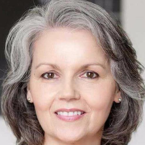 Salt And Pepper Hairstyles For Women Over 60   Silver Hair In 2018 With Regard To Salt And Pepper Voluminous Haircuts (View 12 of 25)