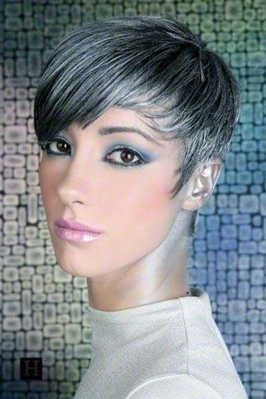 Salt Pepper Short Hair Cuts | Short Hairstyles – Bing Images This Regarding Messy Salt And Pepper Pixie Hairstyles (View 3 of 25)