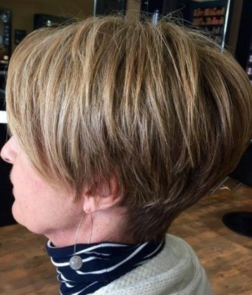 Sassy And Stacked Short Hairstyles For Women Over 50 | Hairstyles In Within Sassy And Stacked Hairstyles (View 17 of 25)