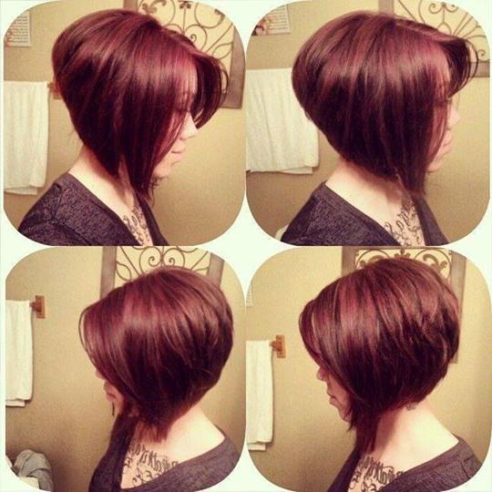 Sassy Stacked Bob Haircut | Make Up & Hair Styles!! | Pinterest Regarding Sassy And Stacked Hairstyles (View 16 of 25)