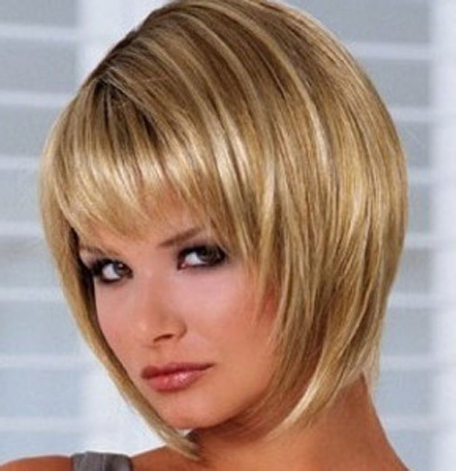 Short Bob Hairstyles With Bangs Stacked – Cool & Trendy Short With Stacked Bob Hairstyles With Bangs (View 8 of 25)