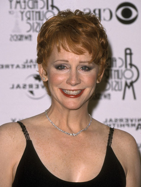 Short, Chic With Graduated Short Fringe – Reba Mcentire's Short Within Chic Blonde Pixie Bob Hairstyles For Women Over (View 22 of 25)