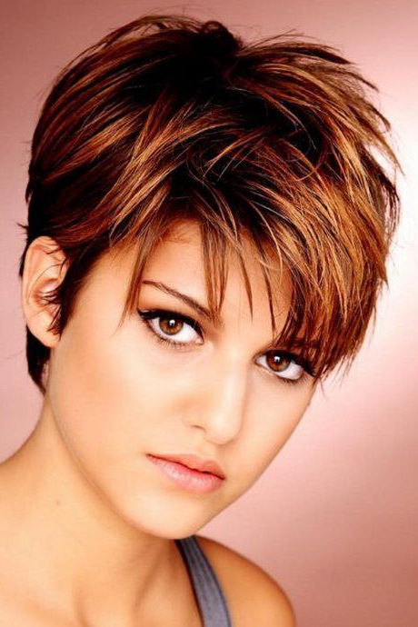 Short Choppy Haircuts For Women | My Favorite Things In 2018 Inside Short Choppy Hairstyles For Thick Hair (View 23 of 25)