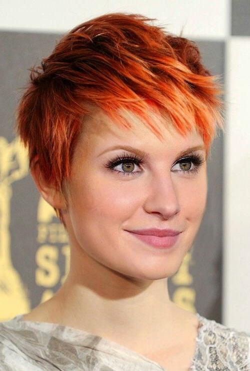 Short, Choppy, Pixie, Red Hair   Hairstyles   Hair Photo For Black Choppy Pixie Hairstyles With Red Bangs (View 5 of 25)
