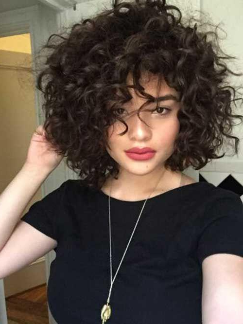 Short Curly Hairstyles – Short And Cuts Hairstyles In Short Curly Hairstyles (View 20 of 25)