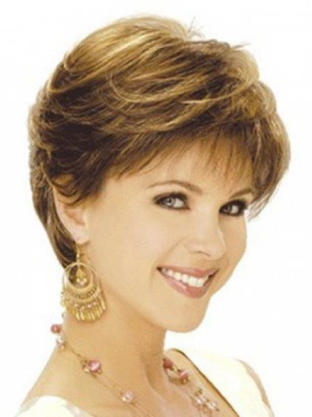 Short Feathered Hairstyles For Thick Hair – Short Feathered Throughout Short Voluminous Feathered Hairstyles (View 7 of 25)