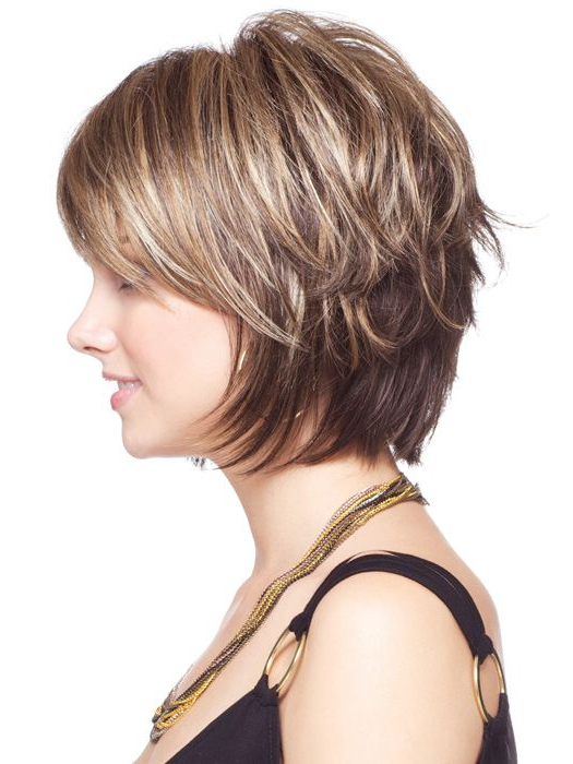 Short Female Haircuts, Layered Hairstyle | Home In 2018 | Pinterest For Short Layered Hairstyles For Thick Hair (View 4 of 25)