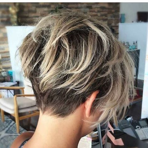 Short Hair Short Hair Cuts For Women Short Hair Styles Short Hair Intended For Pixie Bob Hairstyles With Blonde Babylights (View 8 of 25)