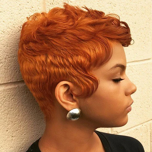 Short Haircut Ideas For Afro Hair – Hair World Magazine In Burnt Orange Bob Hairstyles With Highlights (View 18 of 25)
