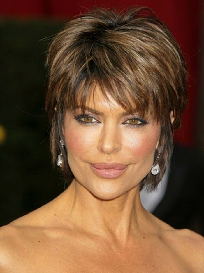 Short Hairstyles For Older Women | Haircuts | Pinterest | Short Hair Pertaining To Layered Pixie Hairstyles With Textured Bangs (View 14 of 25)