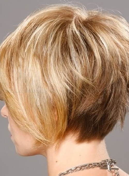 Short Hairstyles Over 50 – Layered Bob Haircut For Mature Women Throughout Mature Short Layered Haircuts (View 10 of 25)