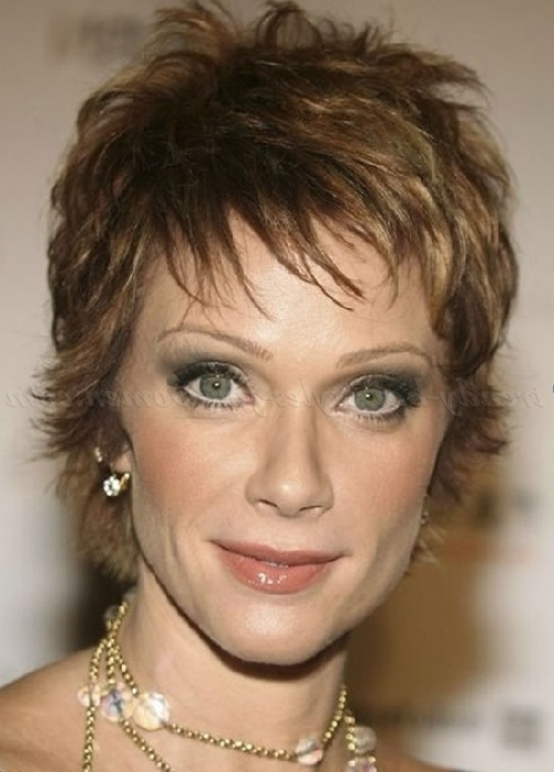 Short Hairstyles Over 50 – Pixie Hairstyle For Women Over 50 Pertaining To Pixie Undercut Hairstyles For Women Over  (View 24 of 25)