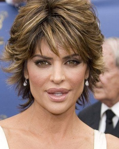 Short Hairstyles With Volume Women Over 40   Short Curly Shaggy Intended For Volume And Shagginess Hairstyles (View 4 of 25)