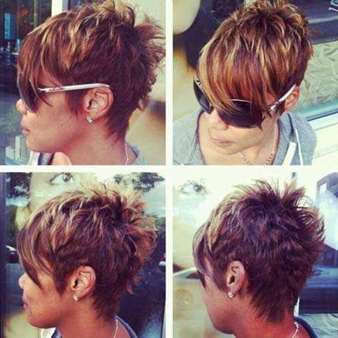 Short Layered Pixie Haircuts 2016 2017 | Pixie Hairstyles, Pixie With Textured Pixie Hairstyles With Highlights (View 6 of 25)