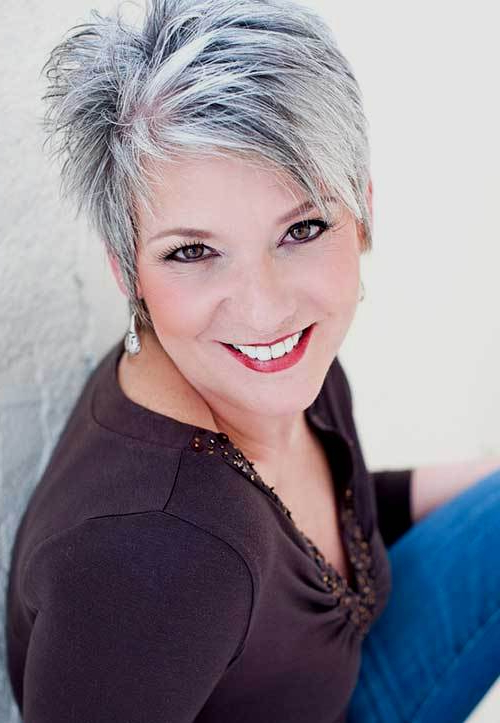 Short Spiky Haircuts And Hairstyles For Women 2017 | Very Short Pertaining To Spiky Gray Pixie Haircuts (View 25 of 25)