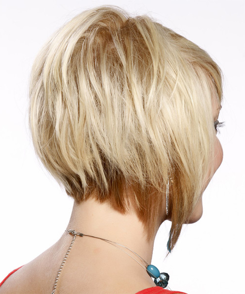 Short Straight Formal Layered Bob Hairstyle With Side Swept Bangs In Layered Platinum Bob Hairstyles (View 15 of 25)